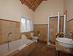 Martial eagle bathroom