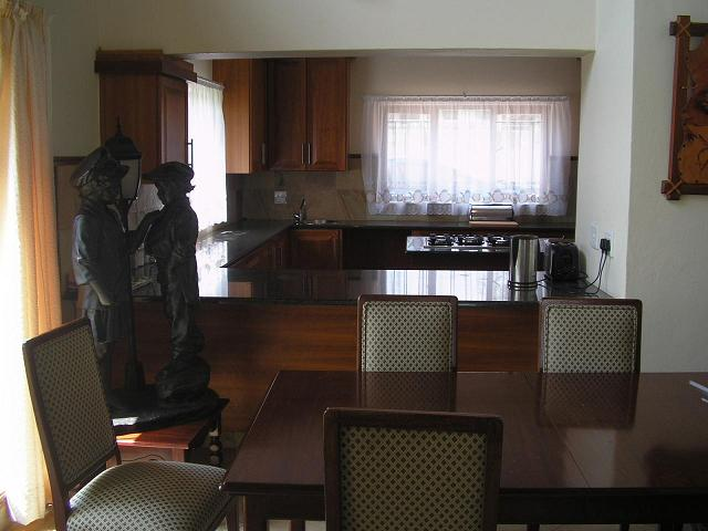 Dinning Room and Kitchen facilities